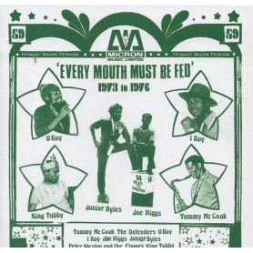 Various - Micron Compilation - 'Every Mouth Must Be Fed' (Pressure Sounds) CD