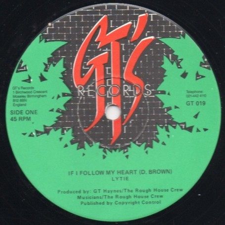"(12"") LYTIE - IF I FOLLOW MY HEART / VERSION"