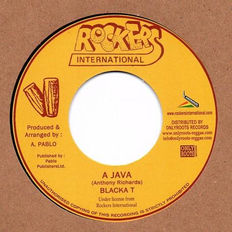 "(7"") BLACKA T - A JAVA / ROCKERS ALL STAR - VERSION"