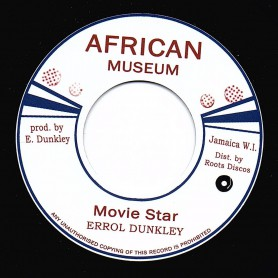 "(7"") ERROL DUNKLEY - MOVIE STAR / MOVIE STAR VERSION"