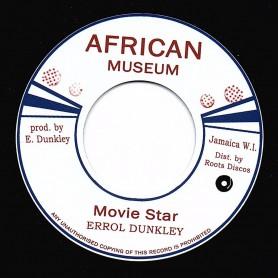 """(7"""") ERROL DUNKLEY - MOVIE STAR / MOVIE STAR VERSION"""
