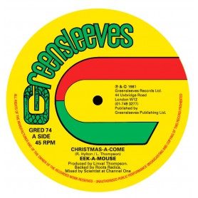 """(12"""") EEK A MOUSE - CHRISTMAS A COME / LEE VAN CLEEF - GONE WATER GONE"""
