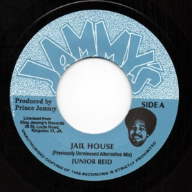 "(7"") JUNIOR REID - JAIL HOUSE / JAIL HOUSE DUB"