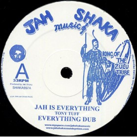 """(12"""") TONY TUFF - JAH IS EVERYTHING / GIVE THANKS & PRAISE"""