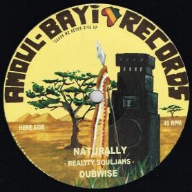 """(12"""") REALITY SOULJAHS - NATURALLY / JAH MARNYAH - I'N'I NAH"""