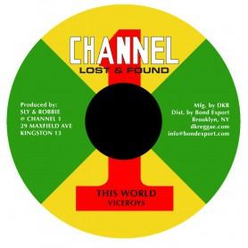 "(7"") VICEROYS - THIS WORLD / DUB"