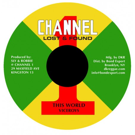 "(7"") VICEROYS - THIS WORLD / DUB"