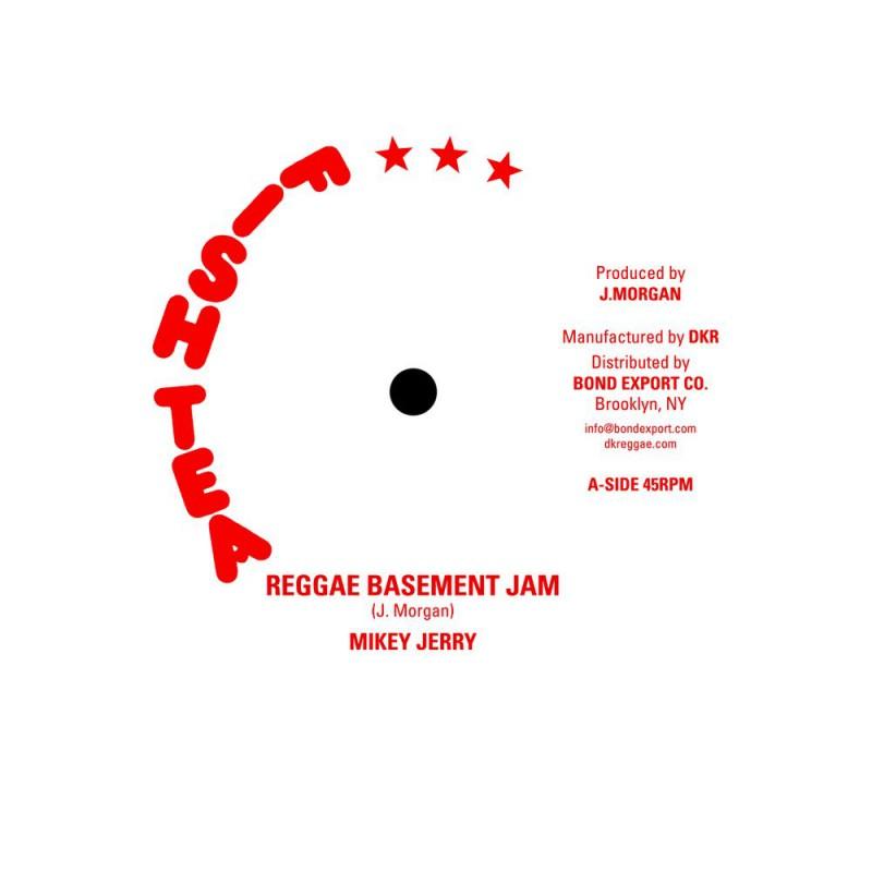 "(10"") MIKEY JERRY - REGGAE BASEMENT JAM / VERSION"