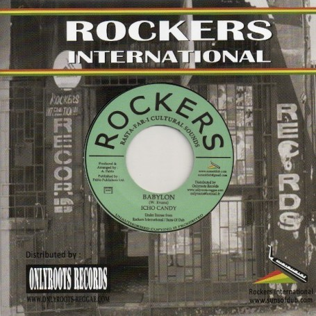 "(7"") ICHO CANDY - BABYLON / ROCKING DUB"