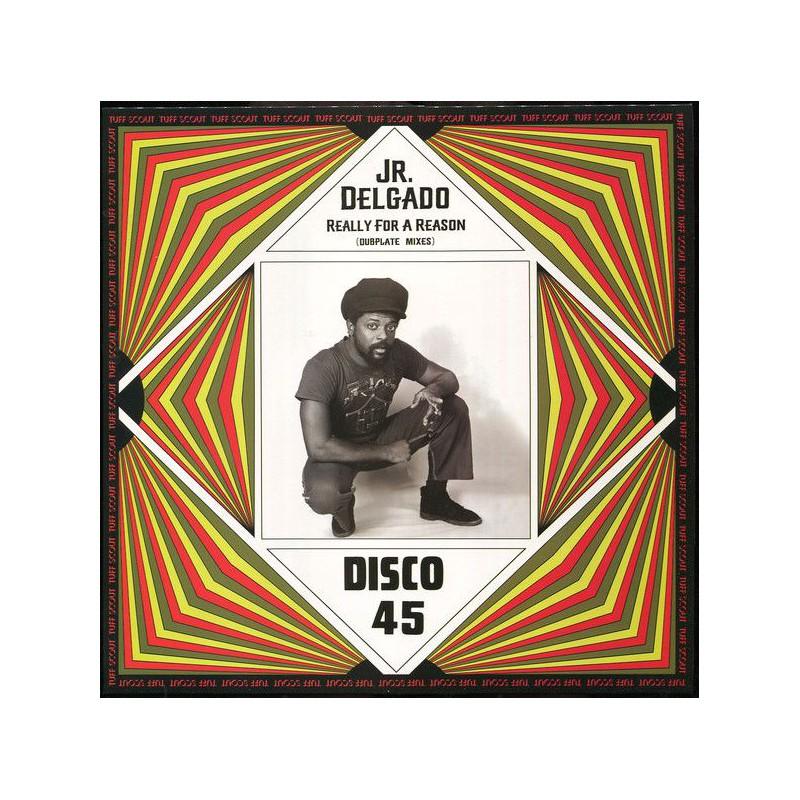 """(12"""") JUNIOR DELGADO - REALLY FOR A REASON (Dubplate Mixes)"""