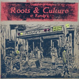 (LP) VARIOUS ARTISTS - ROOTS & CULTURE AT RANDY'S - 127