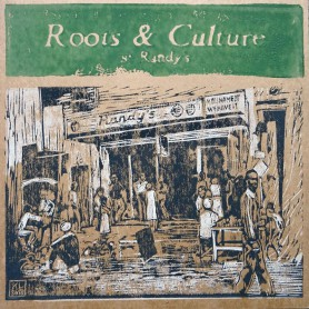 (LP) VARIOUS ARTISTS - ROOTS & CULTURE AT RANDY'S - 128