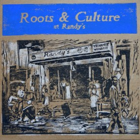 (LP) VARIOUS ARTISTS - ROOTS & CULTURE AT RANDY'S - 181