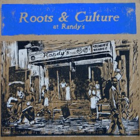 (LP) VARIOUS ARTISTS - ROOTS & CULTURE AT RANDY'S - 180