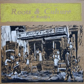 (LP) VARIOUS ARTISTS - ROOTS & CULTURE AT RANDY'S - 182