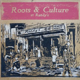 (LP) VARIOUS ARTISTS - ROOTS & CULTURE AT RANDY'S - 195