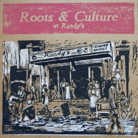 (LP) VARIOUS ARTISTS - ROOTS & CULTURE AT RANDY'S - 194