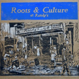 (LP) VARIOUS ARTISTS - ROOTS & CULTURE AT RANDY'S - 172