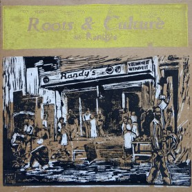(LP) VARIOUS ARTISTS - ROOTS & CULTURE AT RANDY'S - 168