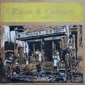 (LP) VARIOUS ARTISTS - ROOTS & CULTURE AT RANDY'S - 183