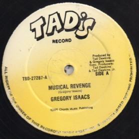 "(12"") GREGORY ISAACS - MUSICAL REVENGE / VERSION"