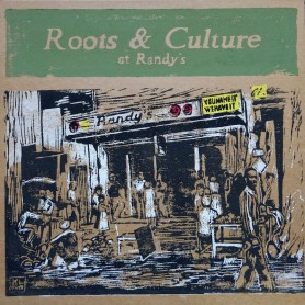 (LP) VARIOUS ARTISTS - ROOTS & CULTURE AT RANDY'S - 130