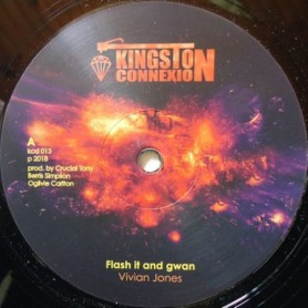 "(12"") VIVIAN JONES - FLASH IT AND GWAN / FLASH IT DUB"