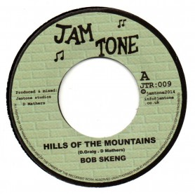 "(7"") BOB SKENG - HILLS OF THE MOUNTAINS / JAMTONE - BLUE ROCK DUB"