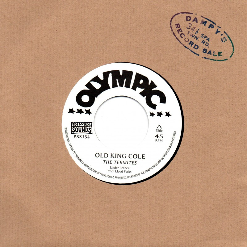 """(7"""") THE TERMITES - OLD KING COLE / GAL & BOY"""