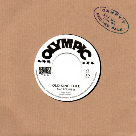 "(7"") THE TERMITES - OLD KING COLE / GAL & BOY"