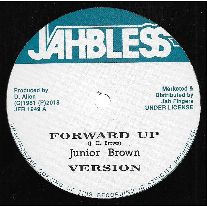 """(12"""") JUNIOR BROWN - FORWARD UP / COOL OFF"""