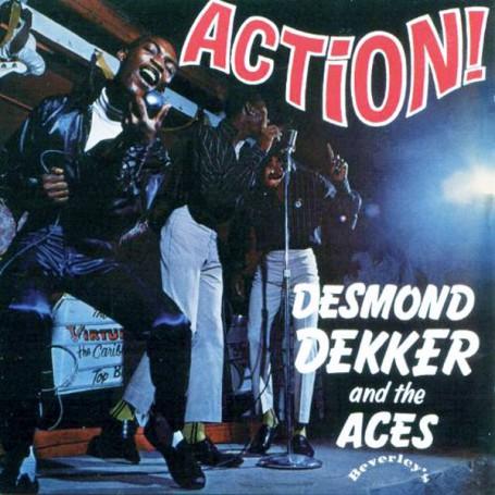 (LP) DESMOND DEKKER - ACTION!