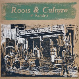 (LP) VARIOUS ARTISTS - ROOTS & CULTURE AT RANDY'S - LIMITED EDITION N°246