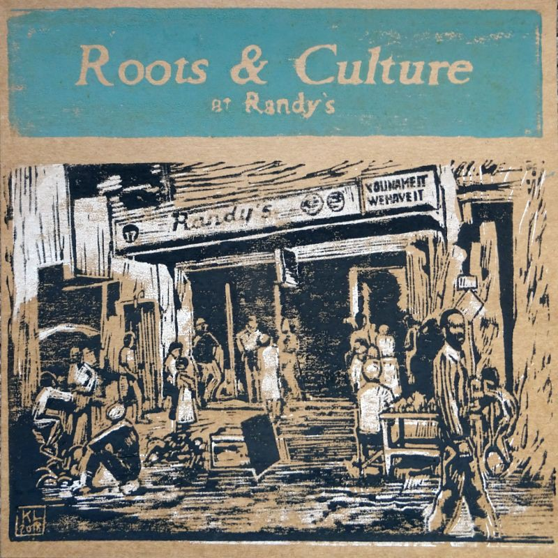 (LP) VARIOUS ARTISTS - ROOTS & CULTURE AT RANDY'S - LIMITED EDITION N°247