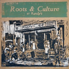 (LP) VARIOUS ARTISTS - ROOTS & CULTURE AT RANDY'S - LIMITED EDITION N°248