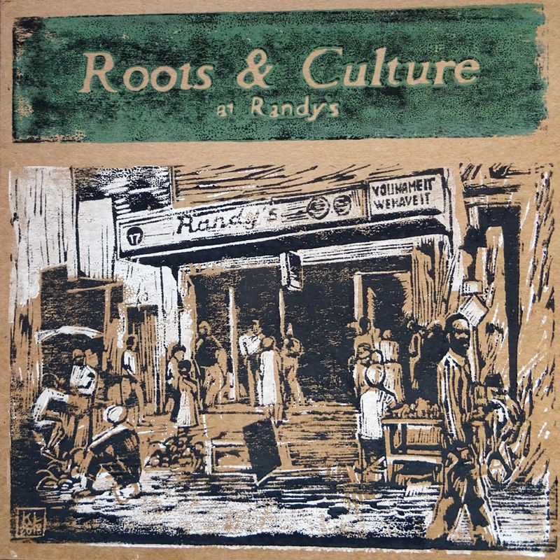 (LP) VARIOUS ARTISTS - ROOTS & CULTURE AT RANDY'S - LIMITED EDITION N°250