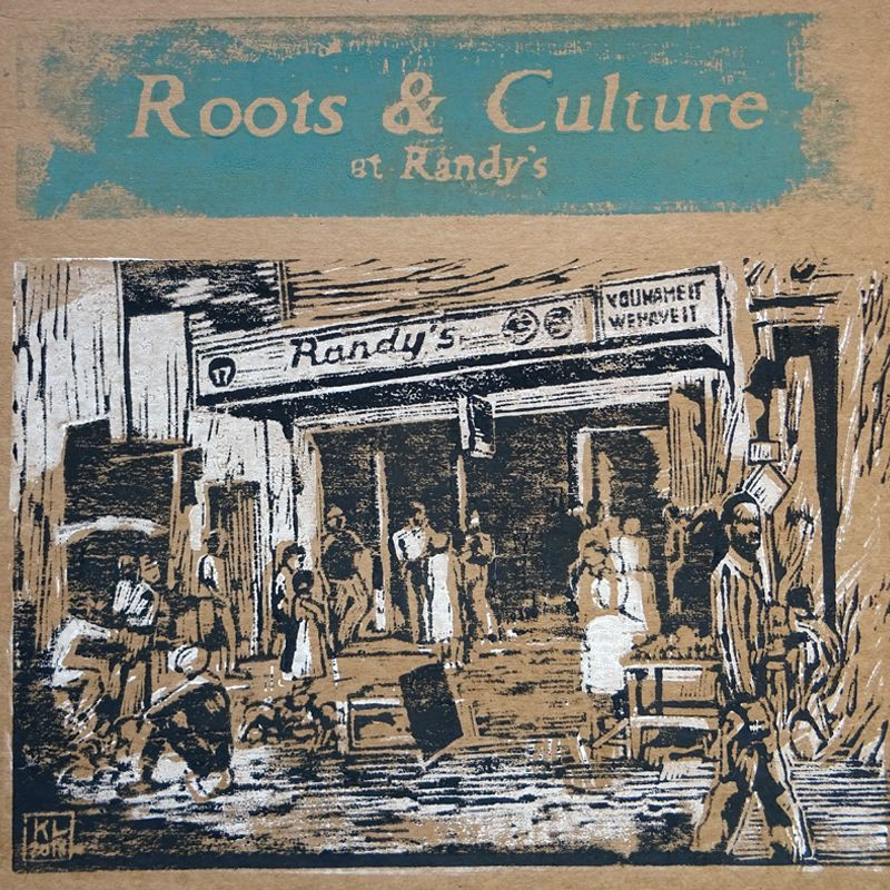 (LP) VARIOUS ARTISTS - ROOTS & CULTURE AT RANDY'S - LIMITED EDITION N°251