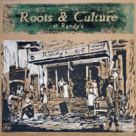 (LP) VARIOUS ARTISTS - ROOTS & CULTURE AT RANDY'S - LIMITED EDITION N°252