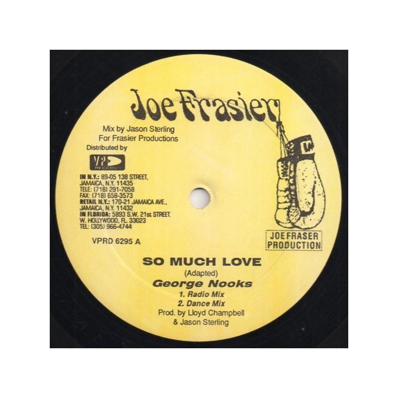 "(12"") GEORGE NOOKS - SO MUCH LOVE"
