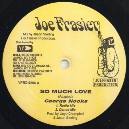 "(12"") GEORGE NOOKS - SO MUCH LOVE"