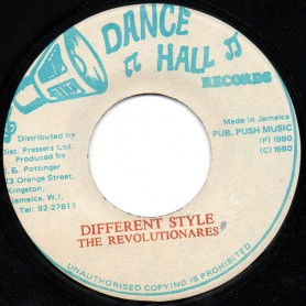 "(7"") LEE VAN CLIFF - DIFFERENT FASHION / THE REVOLUTIONARIES - DIFFERENT STYLE"