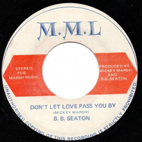 "(7"") BB SEATON - DON'T LET LOVE PASS YOU BY / DUB INVOLVE"