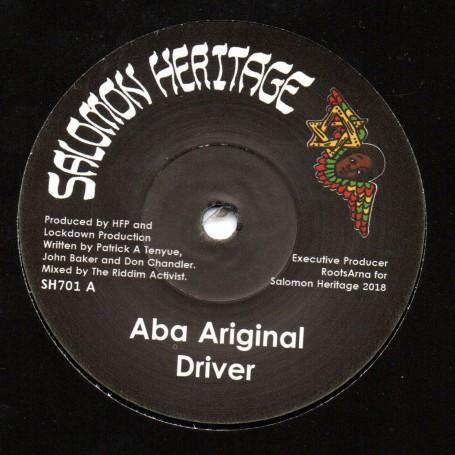 """(7"""") ABA ARIGINAL - DRIVER / TURBO DUB"""