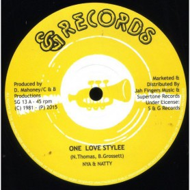 "(12"") NIANATTY - ONE LOVE STYLEE / DESMOND RHYTHM SECTION - VERSION"