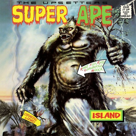 (LP) LEE PERRY & THE UPSETTERS - SUPER APE
