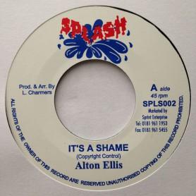 "(7"") ALTON ELLIS - IT'S A SHAME / LLOYD CHARMERS - DUB OF SHAME"