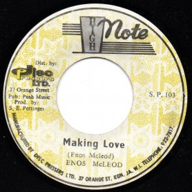 "(7"") ENOS McLEOD - MAKING LOVE / THE REVOLUTIONARYS - TIP TOP DUB"