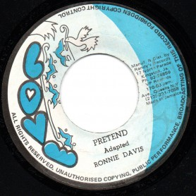 "(7"") RONNIE DAVIS - PRETEND / PART 2"
