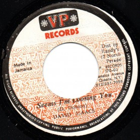 "(7"") DAVID ISAACS - SEEMS I'M LOOSING YOU / LOOSING YOU VERSION INSTRUMENTAL"