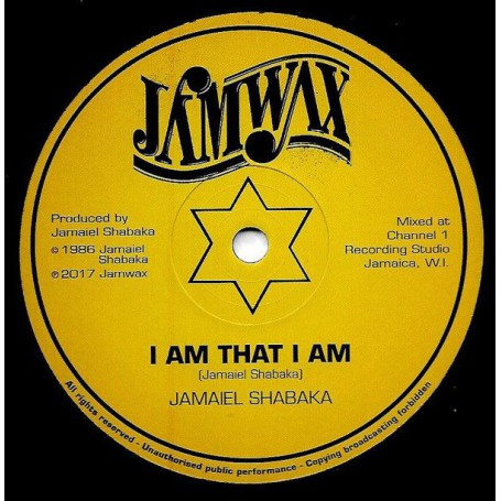 "(12"") JAMAIEL SHABAKA - I AM THAT I AM / DUB VERSION"